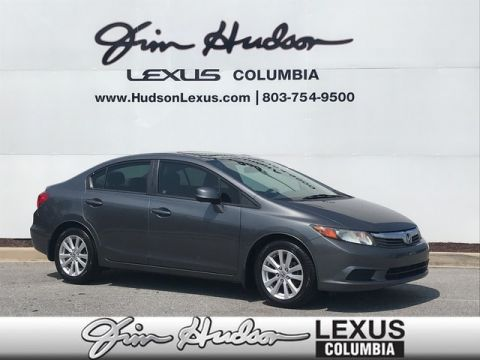 2012 Honda Civic Sdn EX, Cruise Control, Power Windows & Locks, Alloy Wheels