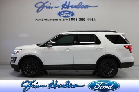 2017 Ford Explorer XLT SPORT APPEARANCE PACKAGE NAVI 20 INCH WHEELS LEATHER SUEDE I