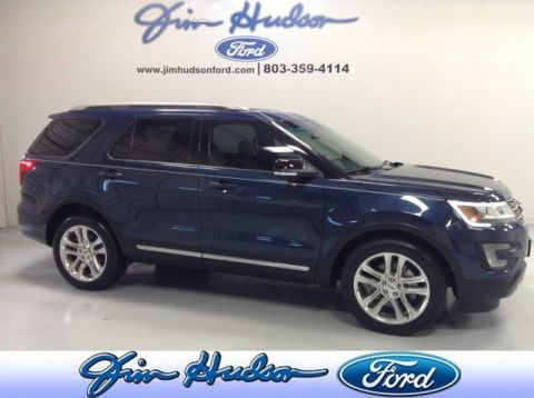 2017 Ford Explorer XLT CPO NAVI LEATHER BLIS HEATED SEATS 20 INCH WHEELS