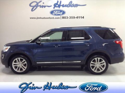 2017 Ford Explorer XLT 4WD CPO NAVI LEATHER TWIN PANEL ROOF BLIND SPOT MONITORING 2ND
