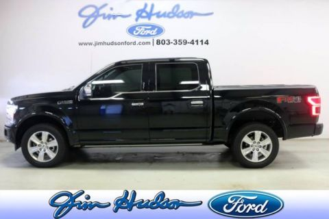 2018 Ford F-150 Platinum 4WD SuperCrew NAVI LEATHER TWIN PANEL ROOF ADAPTIVE CRU