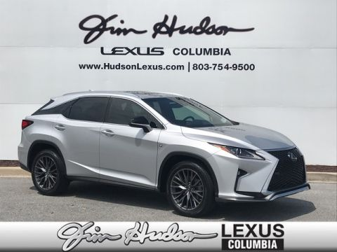 2018 Lexus RX 350 F Sport L/Certified Unlimited Mile Warranty, Navigation, Premium Package, Lexus Safety +, Blind Spot Monitor System