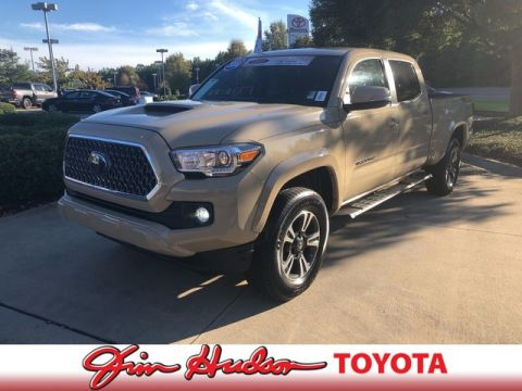 2018 Toyota Tacoma TRD Off Road   STEALTH BLACK RUNNING BOARDS