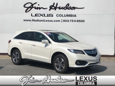 2018 Acura RDX Advance Package  Navigation  Heated Ventilated Seats  Parking Assist  Lane Keep Assist
