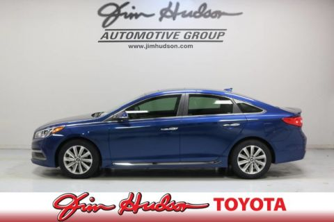 2017 Hyundai Sonata Sport   Power Tilt   Slide SunrooF   Heated Front Seats
