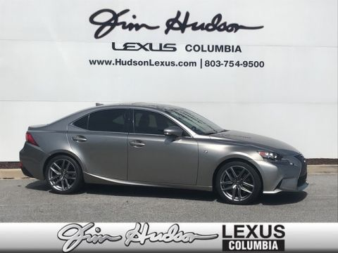 2016 Lexus IS 200t F Sport L Certified Unlimited Mile Warranty  F Sport Package  Blind Spot Monitoring System