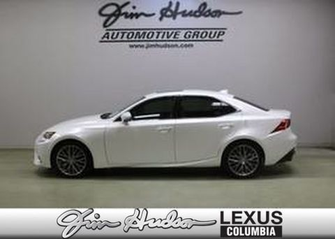 2016 Lexus IS 200t L Certified Unlimited Mile Warranty  Navigation  Premium Package  Blind Spot Monitor  Pre-Collision System