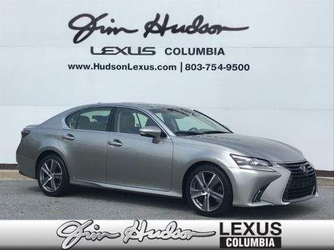 2018 Lexus GS 350 L Certified Unlimited Mile Warranty  Navigation  Lexus Safety System   Blind Spot Monitor