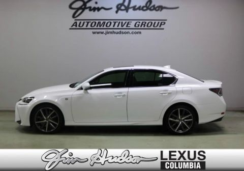 2018 Lexus GS 350 F Sport L Certified Unlimited Mile Warranty  Navigation  Mark Levinson   F Sport Package  Lexus Safety    Blind Spot Monitor System